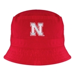 Go Big Red Bucket Topper - Red