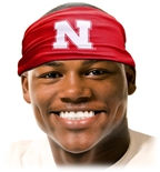 Nebraska Tie Back Headband