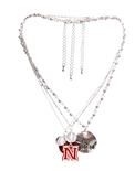 Nebraska Trio Necklace