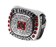 Nebraska Volleyball 2017 National Champs Commemorative Ring