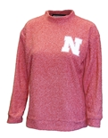 Nebraska Womens Wooly Terry Crew