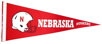 Red Football Helmet Pennant Flag Sewing Concepts