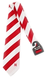 Red N White Stripe Regiment Tie