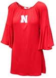 Nebraska Off Shoulder Bell Sleeve Dress