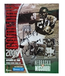 Rodgers Signed CFB Hall of Fame Game Program