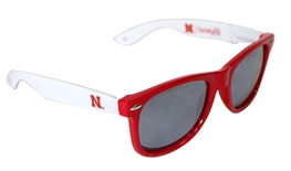 Society 43 Red N White Husker Shades