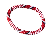 Team Spirit Beaded Roll On Bracelet