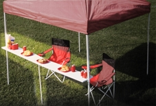 Tent Bartop  Table
