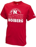 The Mayor Nebraska Basketball Tee