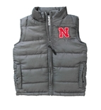 Toddler Boys Nebraska Taylor Puffy Vest