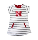 Toddler Gals Nebraska Striped French Terry Dress
