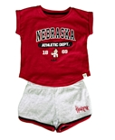 Toddler Girls Nebraska Athletics Short Set