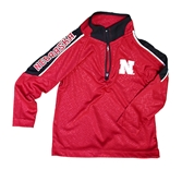 Toddler Nebraska Bunsen Quarter Zip Windshirt