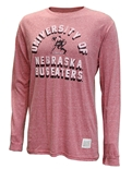 University Of Nebraska LS Retro Tee