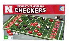 University of Nebraska Checkers Set