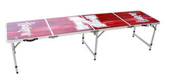 University of Nebraska Fold-Up Tailgate Table