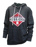 University of Nebraska Hooded LS Tee