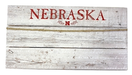 Vintage Nebraska Photo Hang Board