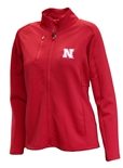 Womens Antigua Nebraska Full Zip Jacket