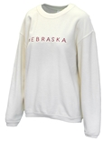 Womens Corded Nebraska Chika-D Sweatshirt