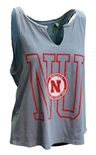 Womens Dyed Fashion V-Notch Huskers Tank