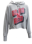 Womens Go Big Red Ambition Hoodie