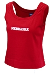 Womens Hepburn Nebraska Crop Tank