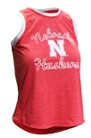 Womens Huskers N Crescent Tank
