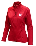 Womens Nebraska Antigua Jacket