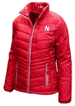 Womens Nebraska Cutter N Buck Puffer Jacket