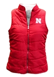 Womens Nebraska Blatch Reversible Vest