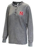 Womens Nebraska Corded Henley