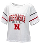 Womens Nebraska Huskers Carly Tee