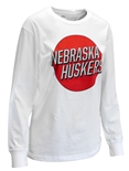 Womens Nebraska Huskers Mariana LS Top