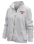 Womens Nebraska N Wheaton Full Zip Jacket