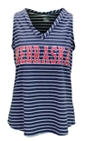 Womens Nebraska Nancy Striped Tank