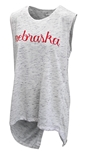 Womens Split Back Nebraska Tank