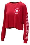 Womens University of Nebraska Cropped Thermal