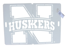 Big Nebraska Yard Logo Stencil Set