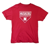 Youth Adidas Huskers Going Yard Tee