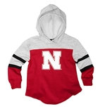 Youth Girls Nebraska Pepe Fleece Hoodie