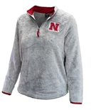 Youth Girls Nebraska Puffer Fish Half Zip