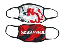 Youth Multi Color 2 Pack Husker Masks