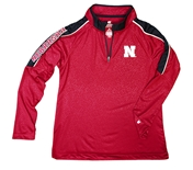 Youth Nebraska Bunsen Quarter Zip Windshirt