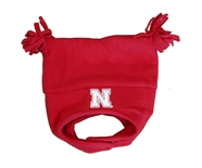 Youth Nebraska Elf Fleece Tassel Hat