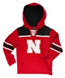 Youth Nebraska Hockey Pullover Hoodie