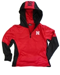 Youth Nebraska Quarter Zip Hoodie