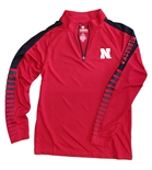 Youth Nebraska Rockzilla LS 1/4 Zip