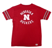 Youth Nebraska Triblend Backfield Tee