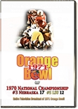 71 Orange Bowl Tv Broadcastdvd